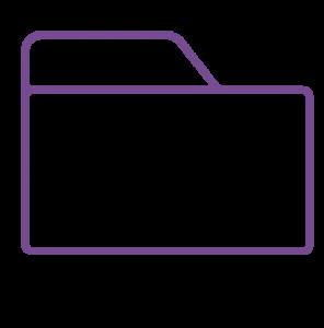 folder icono